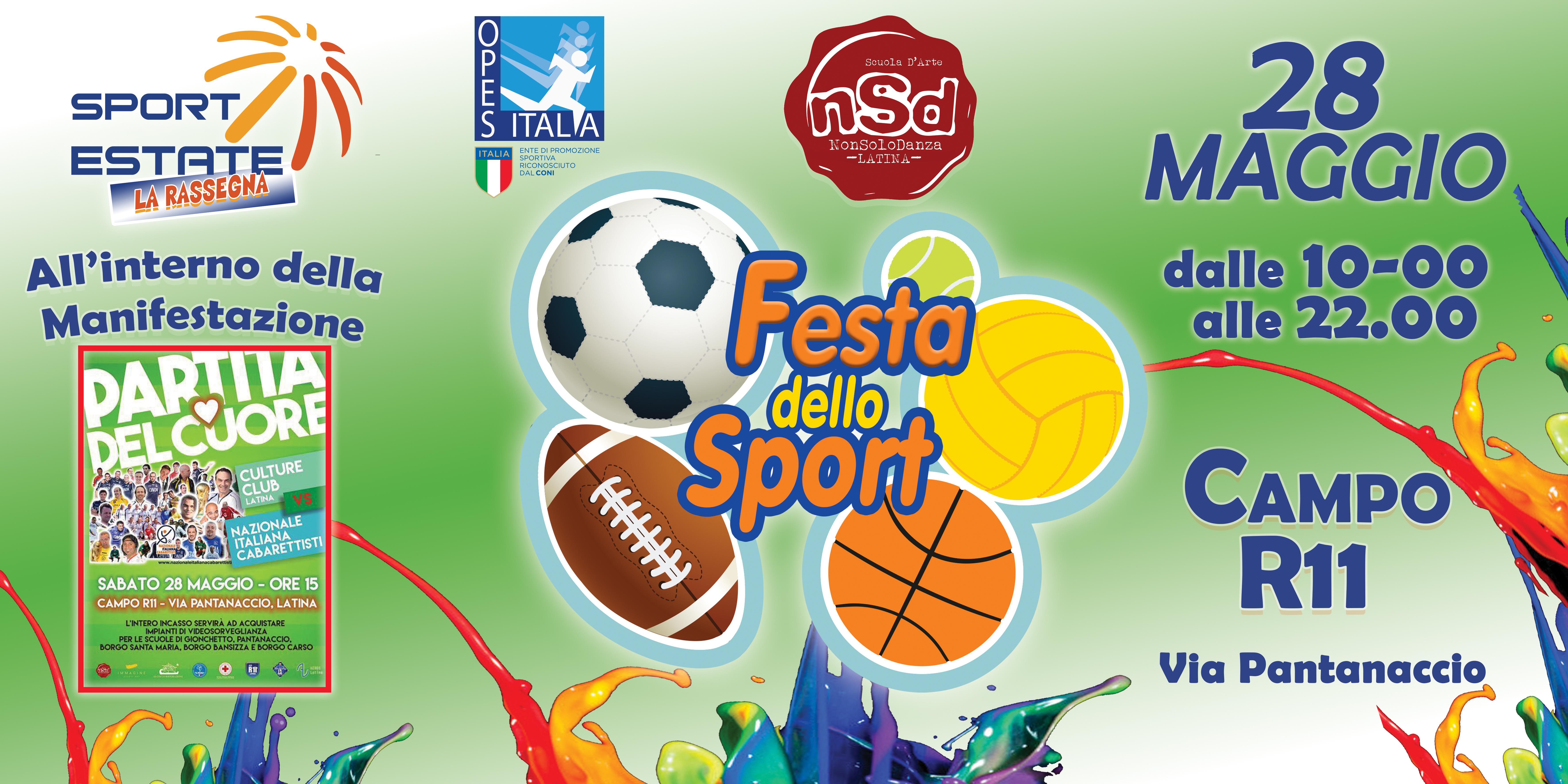 XFB  festa sport PANTANACCIO