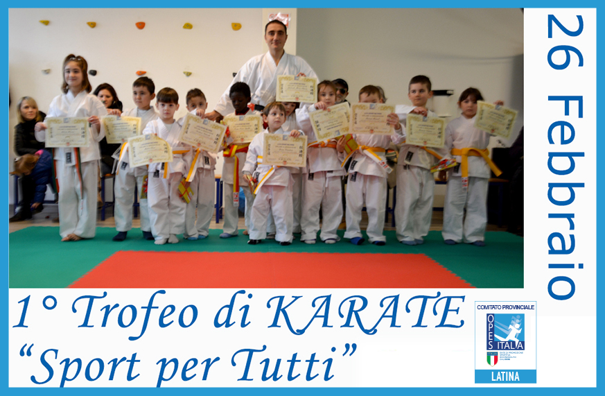 karate sport per tutti