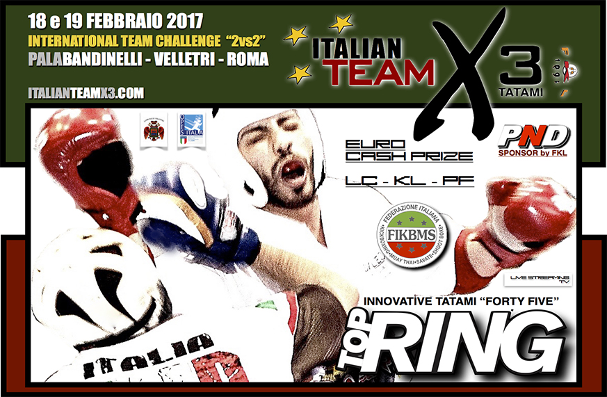 italian team x3
