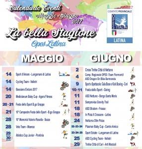 calendario OPES Latina