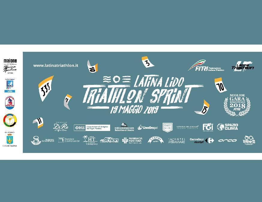 d3727b5dc7d2 Swim, Bike, Run: torna la Latina Lido Triathlon Sprint giunta alla sua  terza edizione